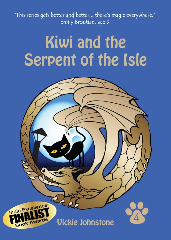 Kiwi and the Serpent of the Isle was a finalist!
